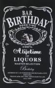 A Lifetime of LIQUORS・・・BAR Birthday