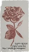 なんでもはんこに    Lapi Rose stamp