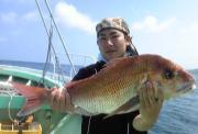 秋田県男鹿半島の釣船 おが丸