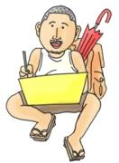 キタデザインの3コマ漫画&イラスト日記