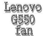 Lenovo g550 fan blog