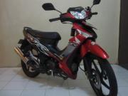 ジャカルタの街をバイクで駆け巡るバカ!