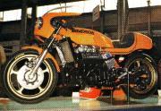 70年代のオートバイ