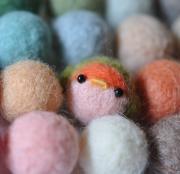 羊毛フェルトde「小鳥図鑑」〜小鳥のぬくもりを手のひらに〜
