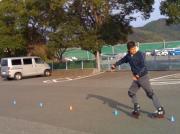 休日とインラインスケート