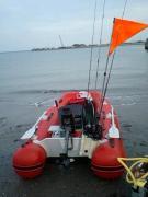 2馬力ボートでLet's twist