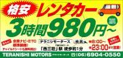 激安レンタカー&カーショップ!テラニシモータース