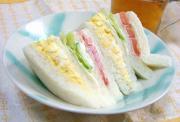 毎日サンドイッチ。