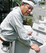 熊本・ごみしょり・おじさんと湯島