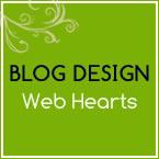 目を惹く女性向けWEBデザインに*Web Hearts