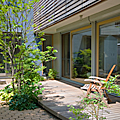 パッシブソーラーハウス、エコロジーハウスと庭づくり