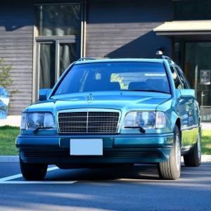 「W124・ベリルワゴン」と「GOLFⅦ・スカイブルー号」