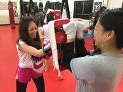 Kickboxing is the spice of life.