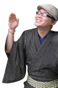 二代目徳三郎は、着物がキライです。