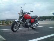 バイクと一緒の世界