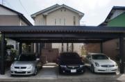回線問屋の二世帯住宅