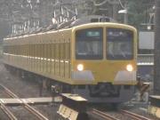 黄色い電車と、青い電車と、私。