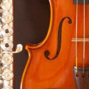 ヴァイオリンとフルート by Rio