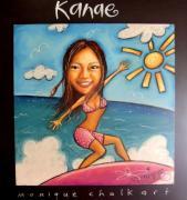 ーKANAE CHALK ARTー南の島からチョークアート
