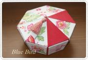 ☆Blue Bird☆cartonnageからの贈り物