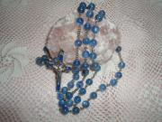 パワーストーン・天然石の手編みロザリオ聖マリア