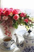 flower atlier コスモスの楽しい花生活