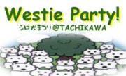 ☆Westie Party!☆ 年に1度の白犬まつり