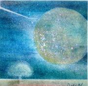 アートを通して地球を想う。パステルメッセージアート