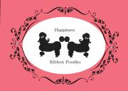 Happiness.Ribbon.Poodles