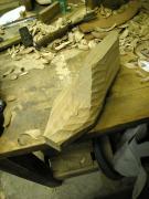神戸中央区靴と木型の作り方 角材から削り出す方法