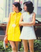 昭和40年代 ミニスカート大流行