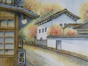 悠太郎の透明水彩画
