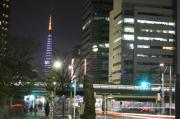 東京の夜景に魅せられて