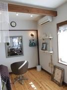 流山の隠れ家美容室アンソレイユ