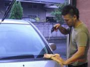 広島ガラスコーティング車花力屋
