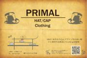 帽子&clothing PRIMAL(プライマル)