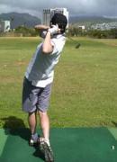 私をゴルフに連れてって!