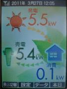 もも太郎発電所 (SANYO 215wX24枚 5.16Kw)