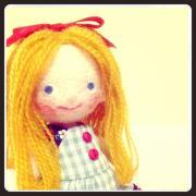 羊毛フェルト人形教室「wawa」 きせかえ