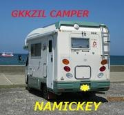 GKKZILキャンパー ナミッキー