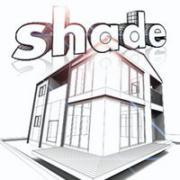 Shadeで作る建築CGパース