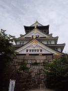 大阪城へ観光に行きました