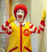 マクドナルドで働いています