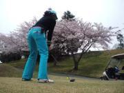いつまでも下手っぴ〜。それでもゴルフ。