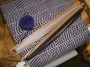 ゆっくり暮らす日々−編んだり織ったり片付けたり