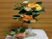 お気に入りの芸術と花のSalone