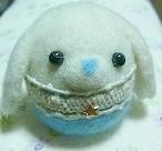 羊毛フェルト*つきのうさぎ*