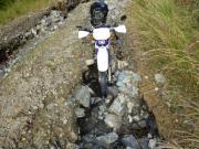XR250 林道ツーリング