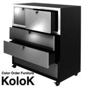 オーダーメードのデザイン収納家具KoloKの最新情報
