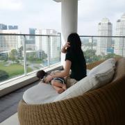 シンガポールでオケラでキャン☆